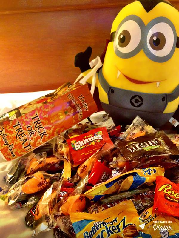 Halloween em Orlando - Minions travessura ou gostosura