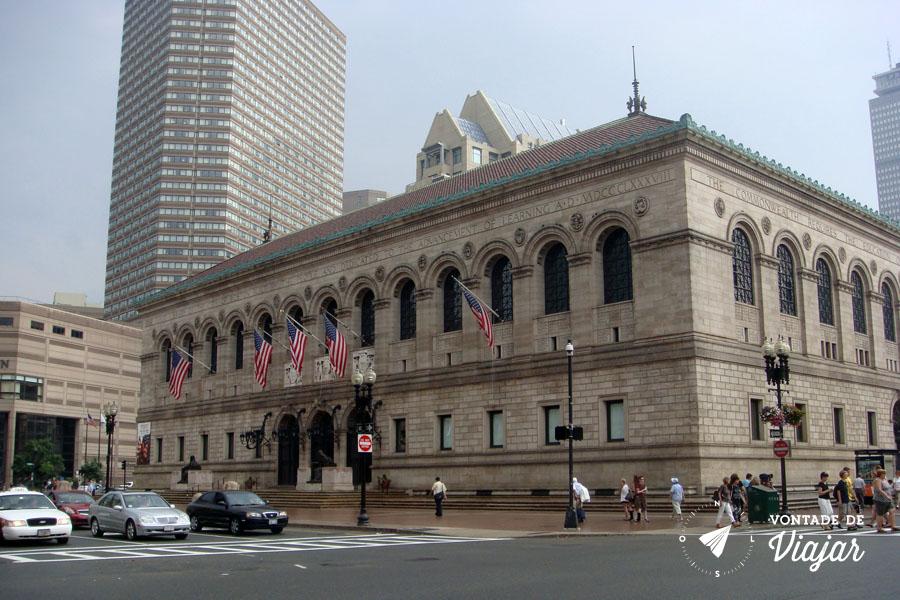 EUA - O que fazer em Boston - Biblioteca Publica de Boston