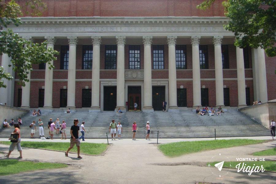 EUA - O que fazer em Boston - Campus de Harvard