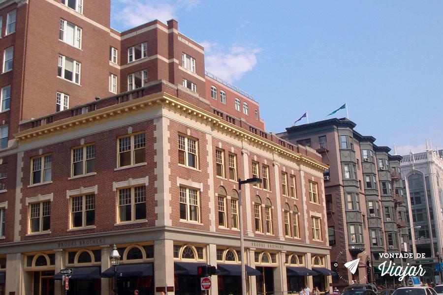 EUA - O que fazer em Boston - Downtown