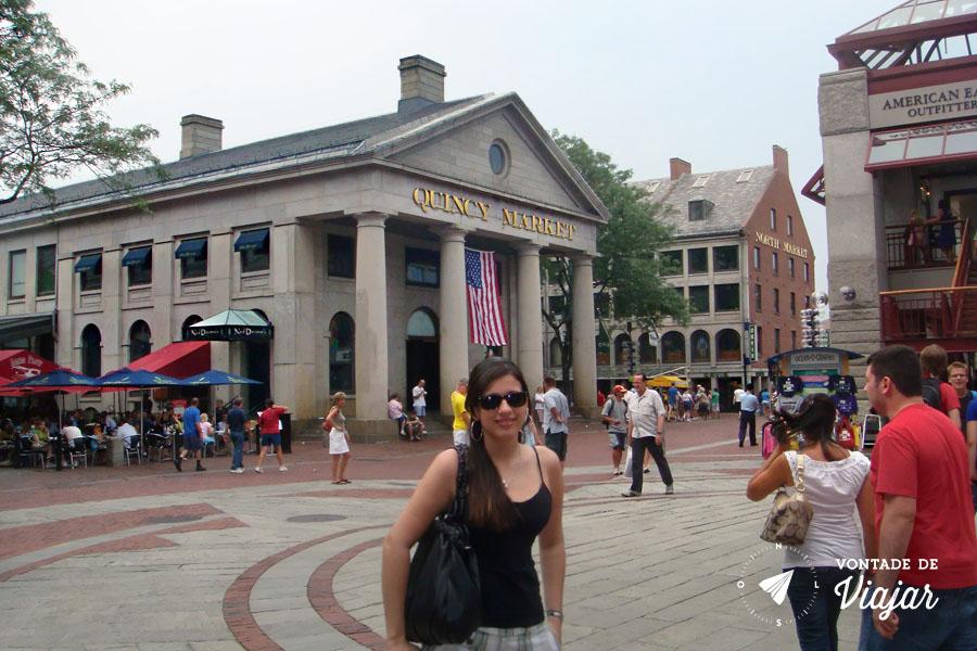 EUA - O que fazer em Boston - Quincy Market