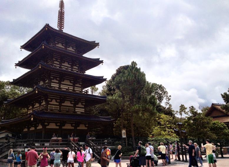 Pavilhão do Japão no Epcot Center