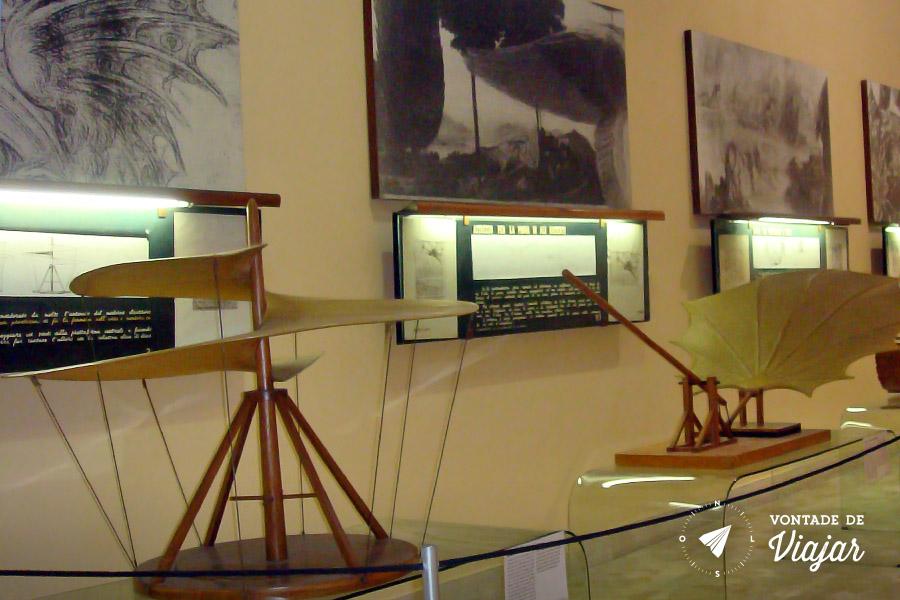 O que fazer em Milao - Leonardo Da Vinci Museu da Ciencia e Tecnologia