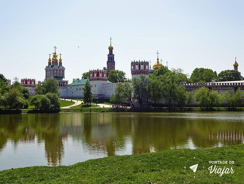Parque-Novodevichy-em-Moscou-Convento-das-Donzelas