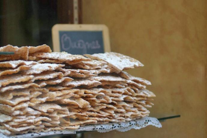 Annecy Franca - Bugnes doce tipico da regiao - foto Rhone Tourisme