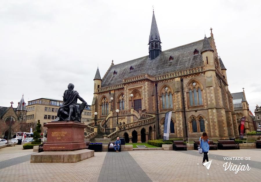 Dundee Escocia - Museu galeria McManus