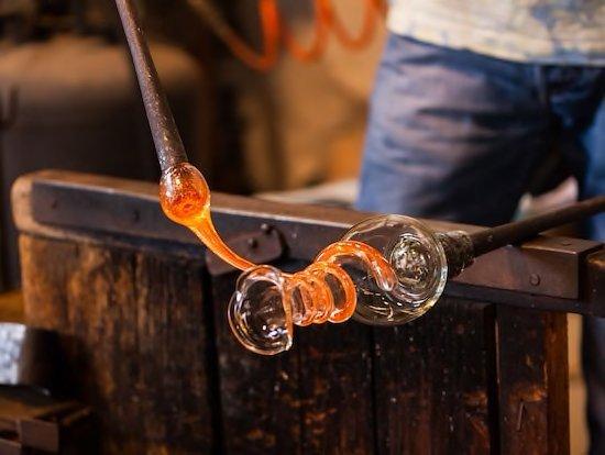 Ilhas de Veneza - Demonstracao fabrica de vidros