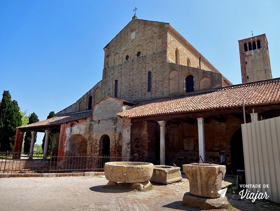 Ilhas de Veneza - Igreja em Torcello a mais antiga ilha de Veneza