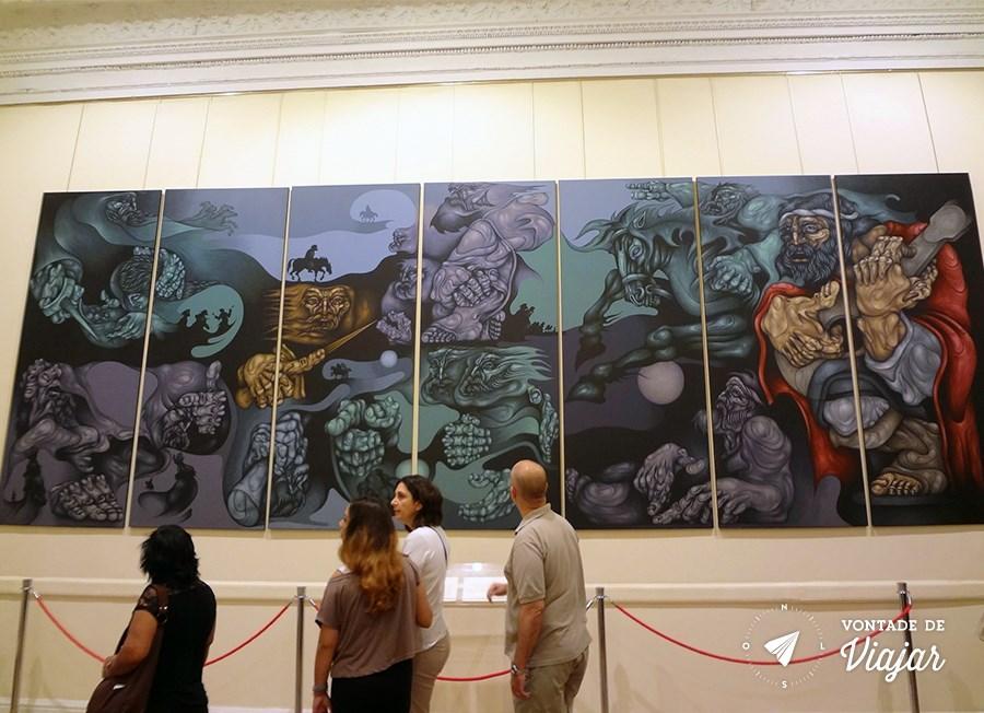 Casa Rosada - Obras de arte na sede do governo argentino