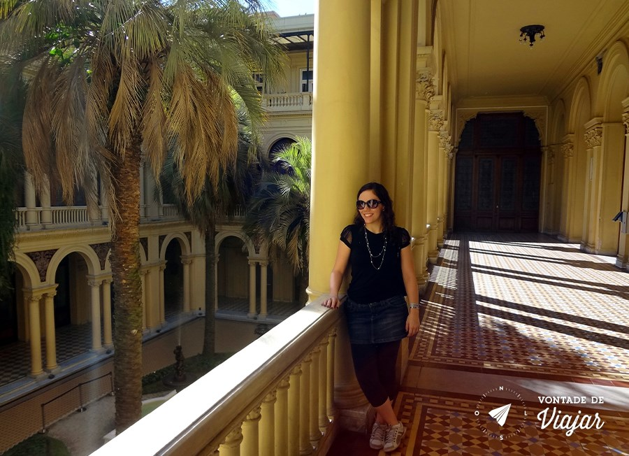 Casa Rosada - Patio das Palmeiras