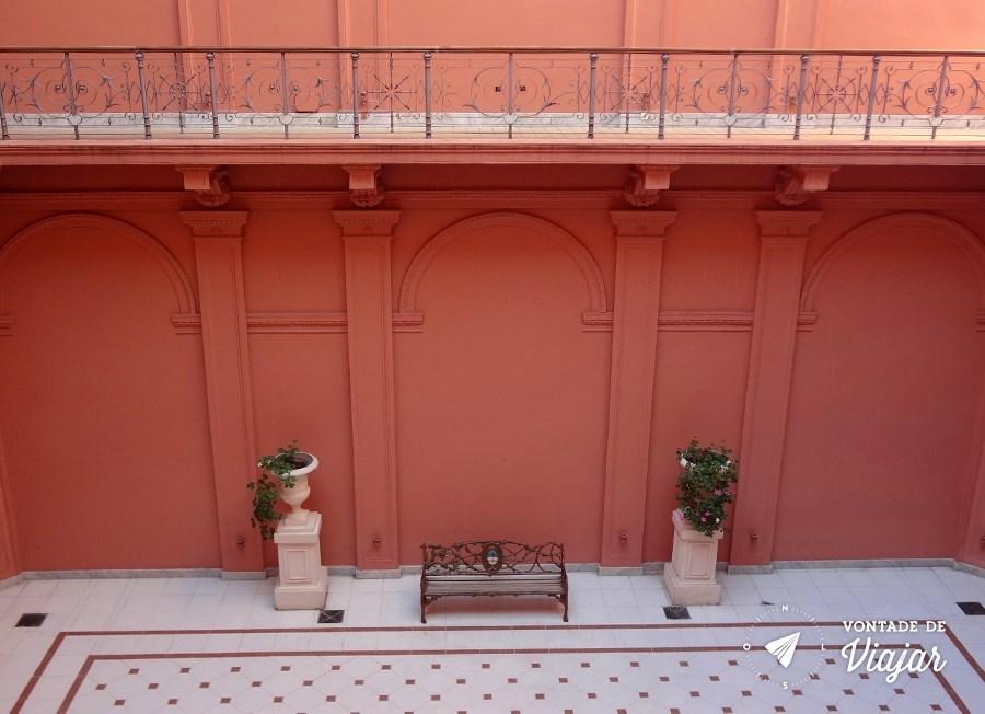 Casa Rosada - Patio interno