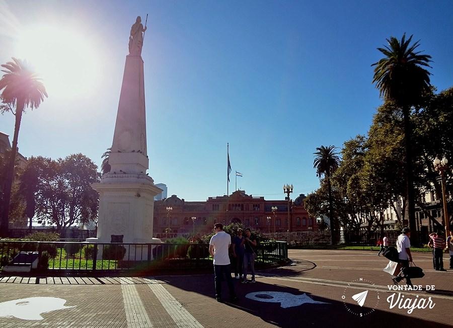 Casa Rosada - Plaza de Mayo em Buenos Aires
