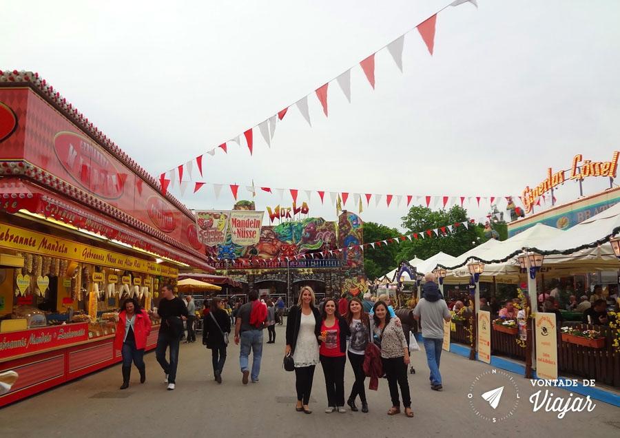 Festival de primavera na Alemanha - Parque em Nuremberg - foto do blog Vontade de Viajar