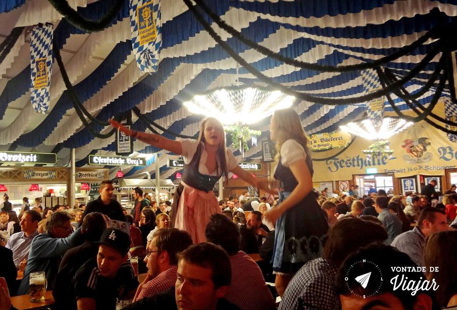 Festival de primavera na Alemanha - Tenda da Augustiner - foto do blog Vontade de Viajar