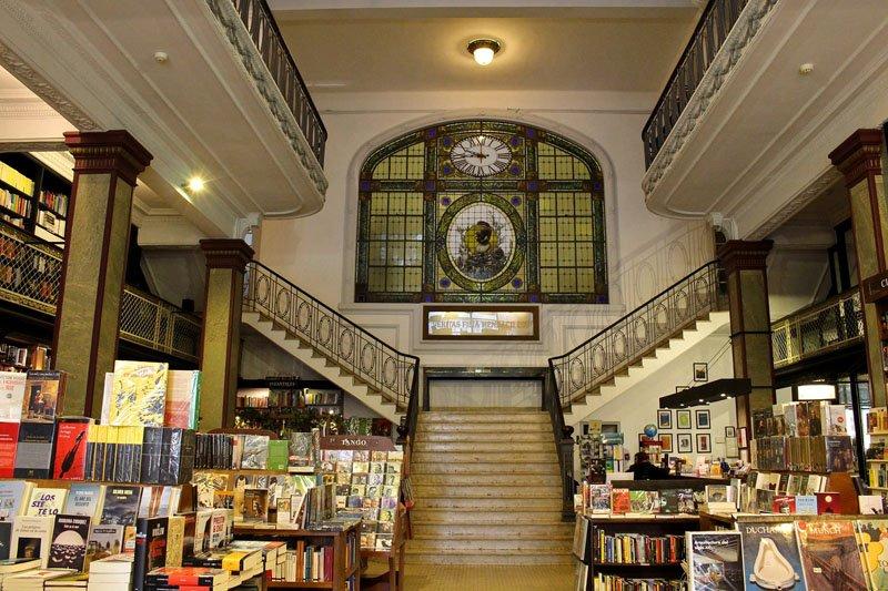 Livrarias do mundo - Mas Puro Verso em Montevideu