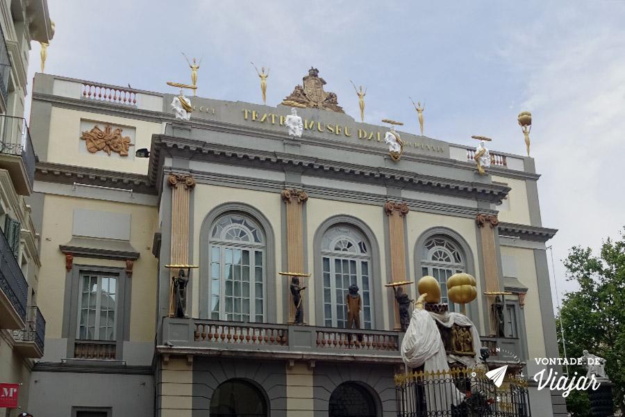 Museu Dali Espanha - Teatro de Figueres