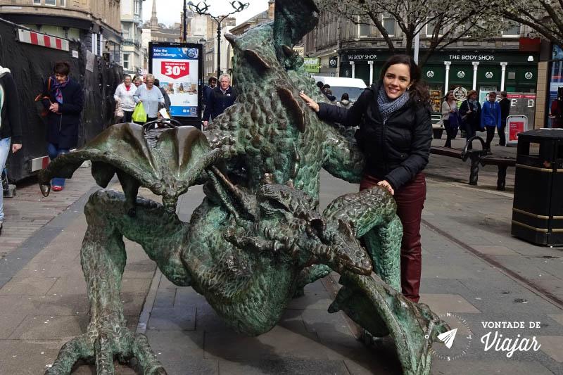 O que fazer em Dundee Escocia - Dragao