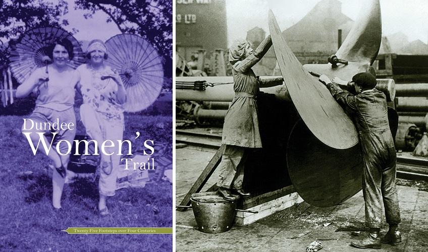 O que fazer em Dundee Escocia - Dundee Womens Trail Historia de mulheres escocesas