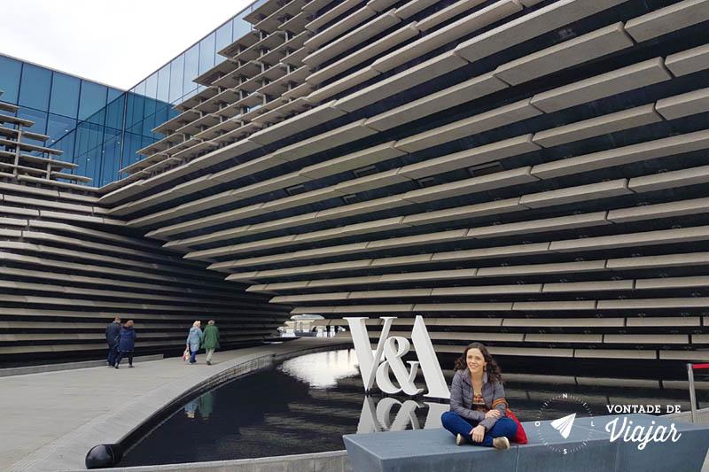 O que fazer em Dundee Escocia - Museu VeA Dundee