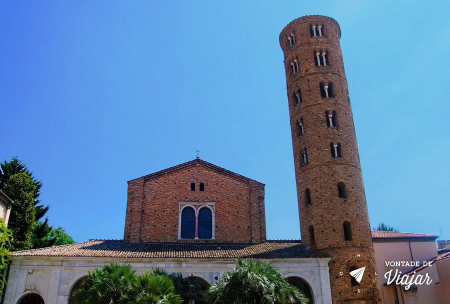 Ravena Italia - Basilica de Santo Apolinario