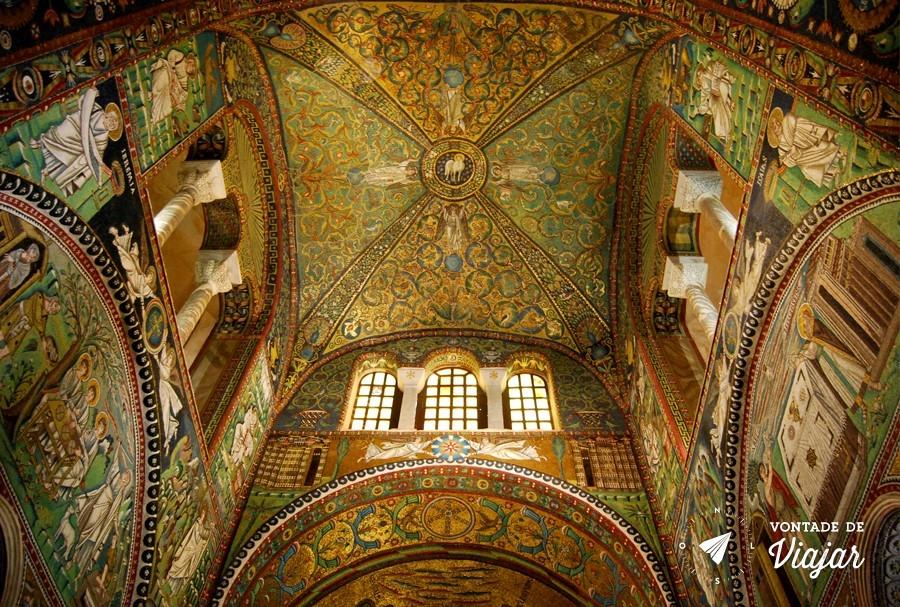 Ravena Italia - Basilica de Sao Vital