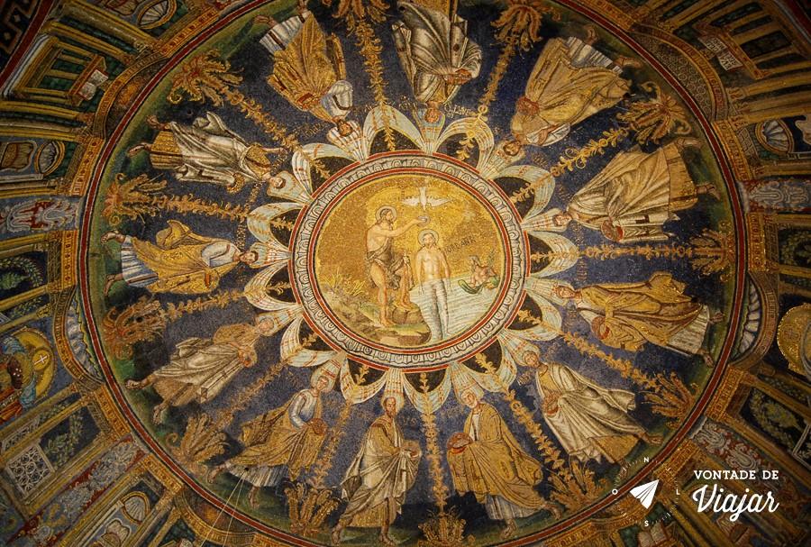 Ravena Italia - Mosaicos Batisterio Neoariano