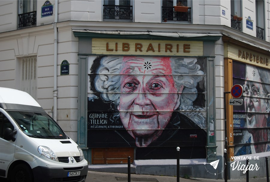 Street Art em Paris - Graffiti em Paris