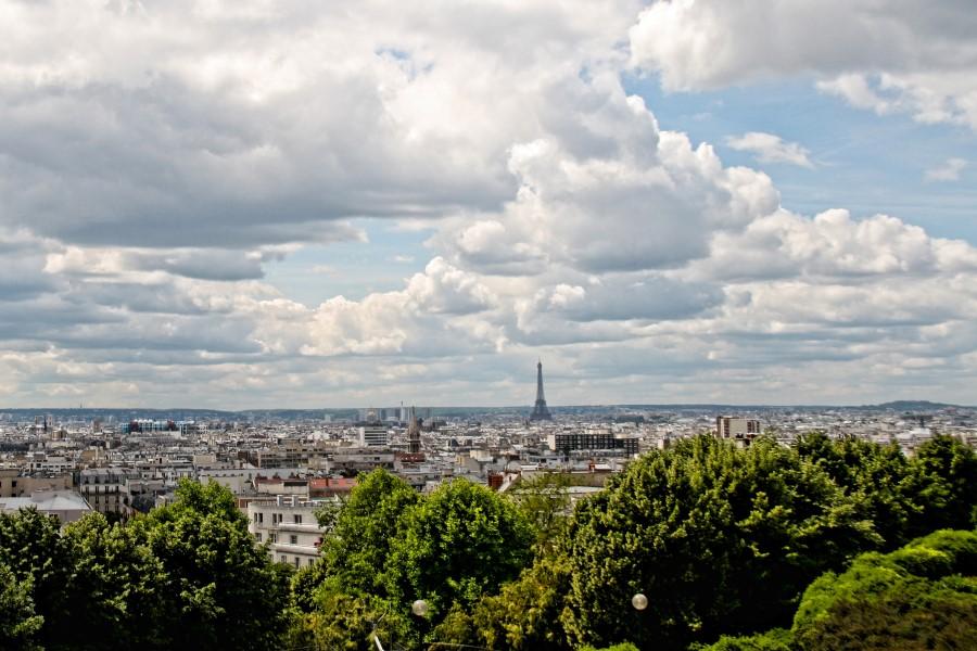 Vistas de Paris - Parc de Belleville - foto Andrew