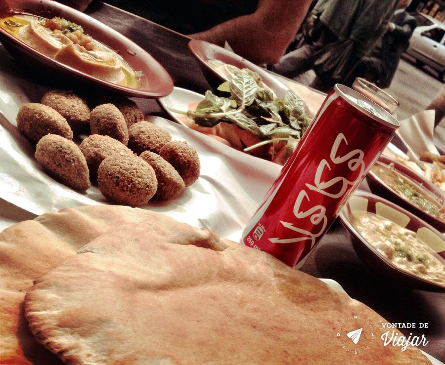 Ama Jordania - Comida arabe