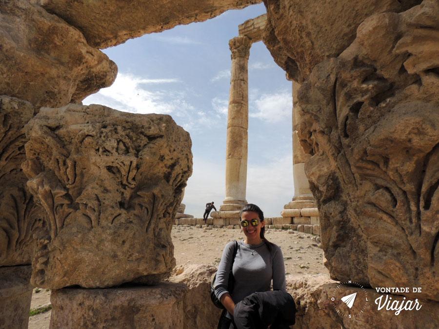 Ama Jordania - Ruinas do Imperio Romano