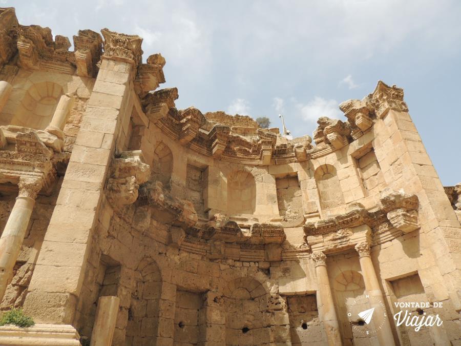 Jerash na Jordania - Ninfeu