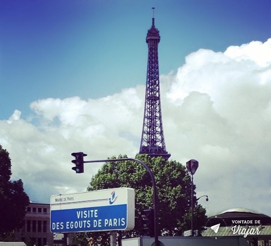 Museus de Paris - Museu do Esgoto em Paris