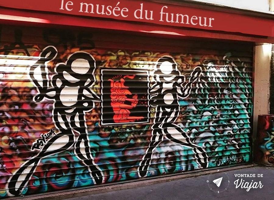 Museus de Paris - Museu do Fumante em Paris