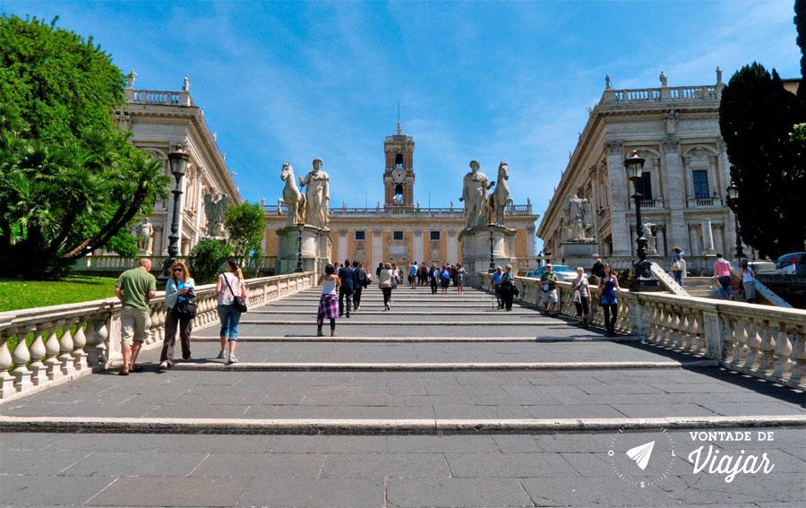Museus Capitolinos em Roma - Foto: Sergio Morchon
