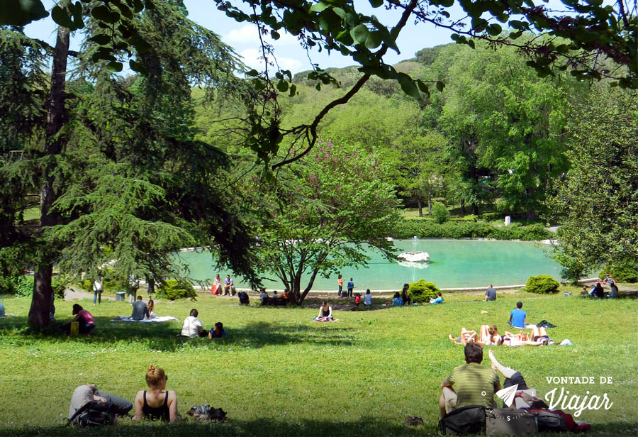 Parque na Vila Borghese