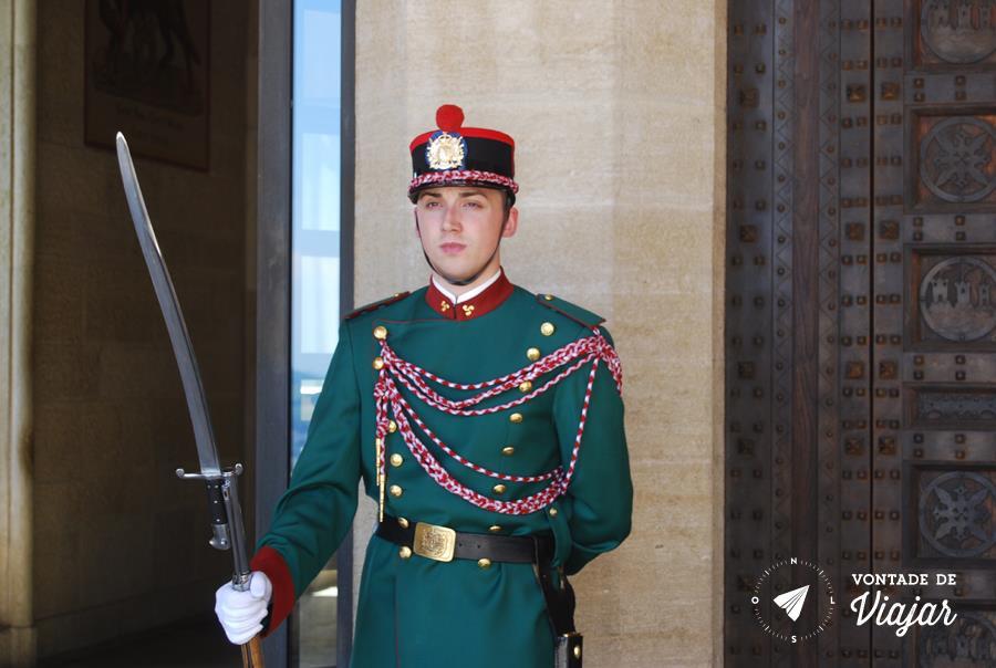 San Marino Italia - Guarda de San Marino
