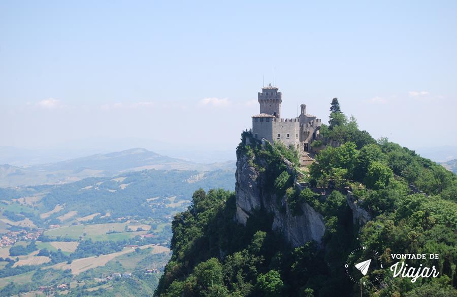 San Marino Italia - Vista da 2a Torre de San Marino