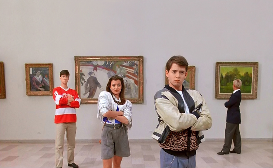 Melhores museus do mundo - Art Institute of Chicago - Ferris Bueller no museu