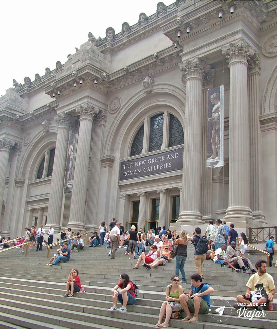 Melhores museus do mundo - Escada do Met de Nova York