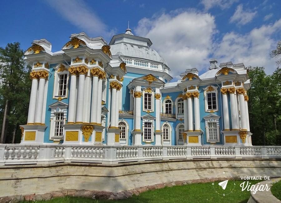 Tsarkoe Selo - Casa de banho do Palacio de Catarina