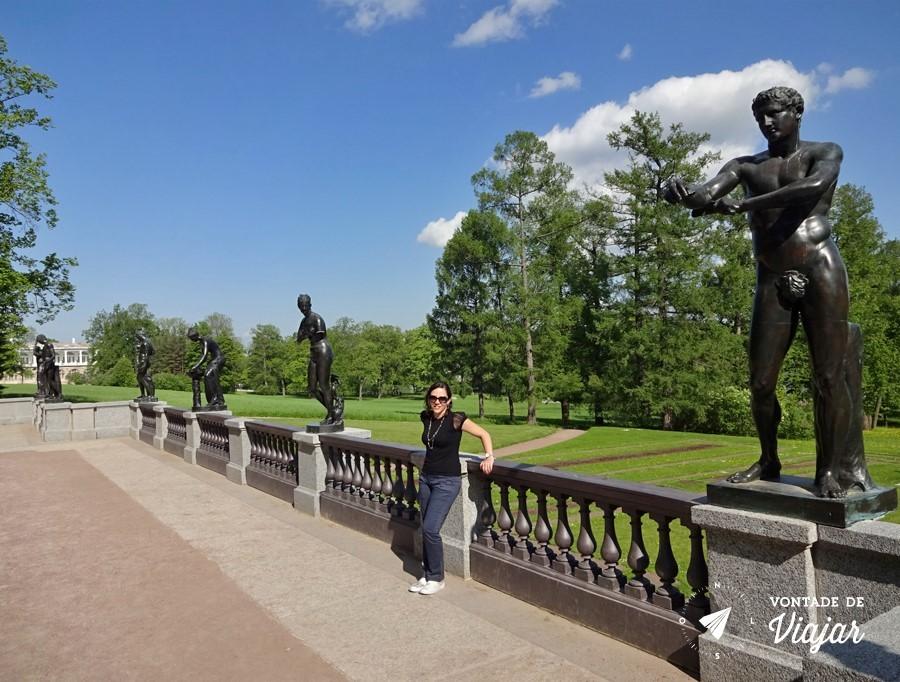 Tsarkoe Selo - Jardins do palacio de Catarina