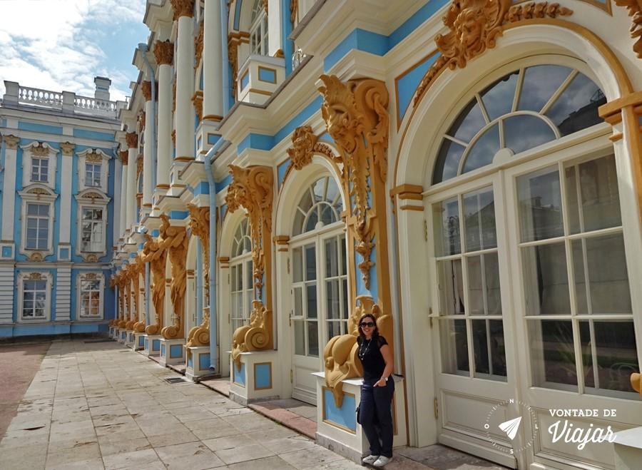 Tsarkoe Selo - Visita ao Palacio de Catarina