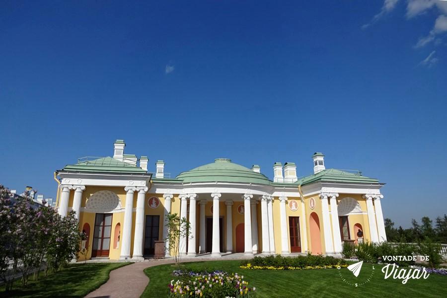 Tsarkoe Selo - predio anexo Galeria Cameron