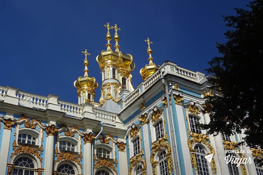 Tsarskoe Selo - Capela