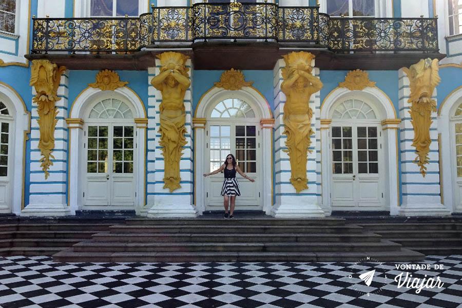 Tsarskoe Selo - Palacio Tsarskoye Selo