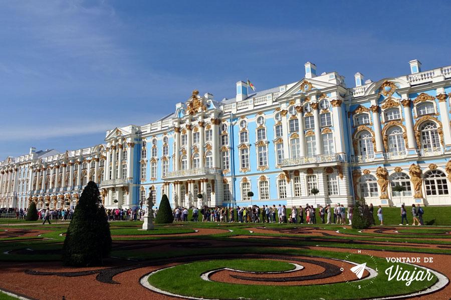 Tsarskoe Selo - Palacio de Catarina em Sao Petersburgo