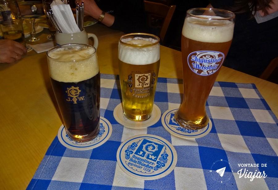 Beerhalls em Munique - Cerveja Augustiner