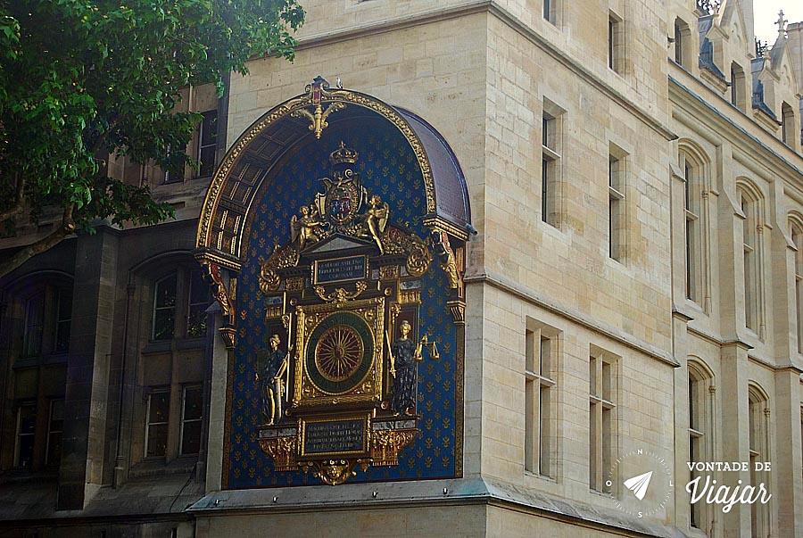 Horloge - Primeiro relogio de Paris