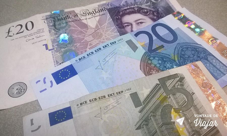 Melhor Cambio - Libra Euro