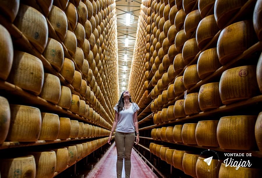 Modena - Producao de queijo parmigiano reggiano